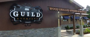 Guild & Company restaurant sign