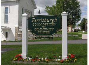 Ferrisburgh town offices sign