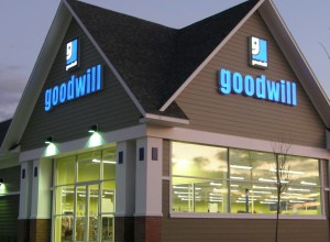 Goodwill VT sign