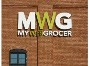 My Web Grocer sign