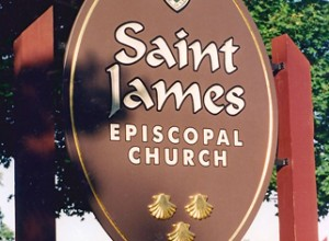 Saint James Episcopal Church sign