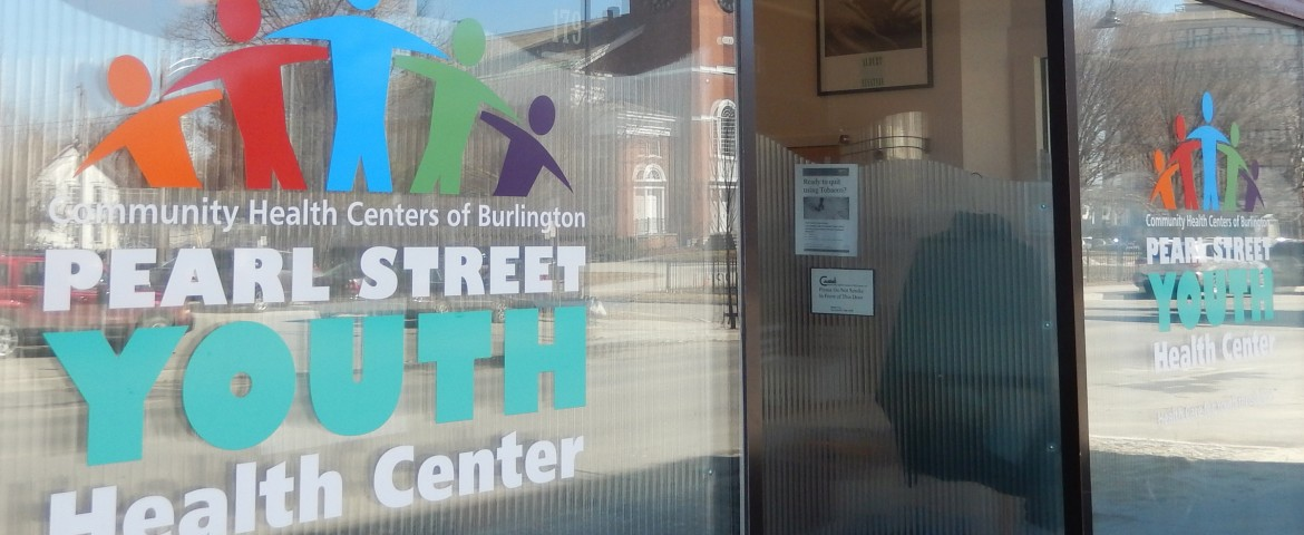 Pearl Street Youth Health Window Graphics Center